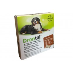 DRONTAL PLUS FLAVOURED >35KG 2 TB