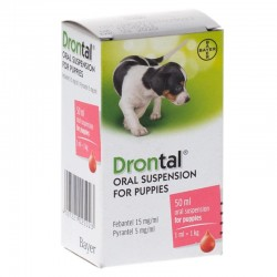 DRONTAL PUPPY SUSP X 50 ML
