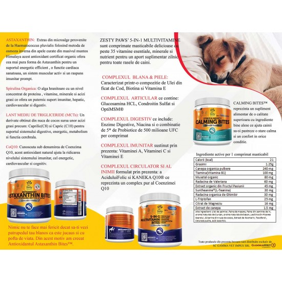 Zesty Paws - Suplimente alimentare